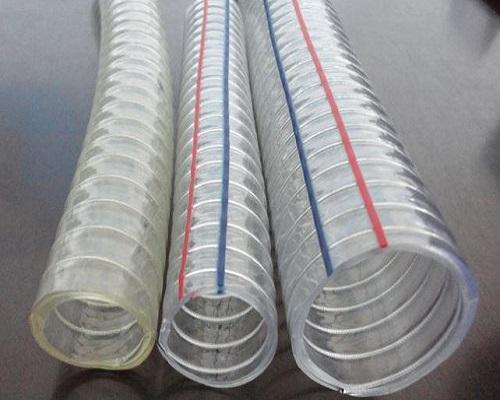 تولیدشیلنگ شفاف فنردار